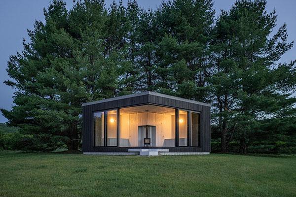 nhà container kiến trúc mở