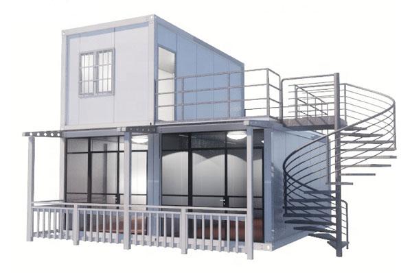 nhà-container-van-phong-2-tầng